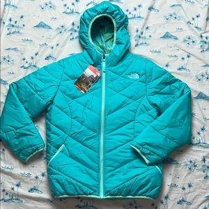 North Face Reversible Perrito Jacket Ion Blue